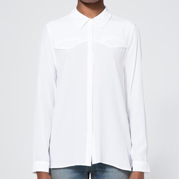 Equipment Tops - Equipment Denver Western Shirt Silk Button Down L